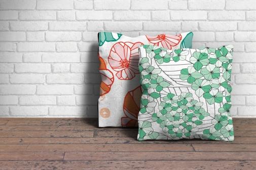 Amy Hen Designs Cushions