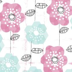 Blue-Geo-florals