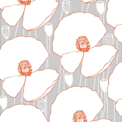 Poppies-orange-and-grey