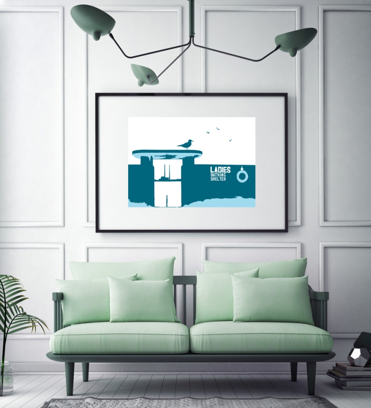 ladies-bathing-shelter-teal-in-mock-up
